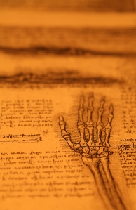 Leonardo's Notebooks. Photo from Bigstock.com