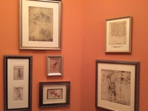 The entryway of my house: drawings and letters by Michelangelo