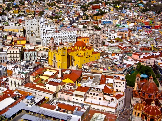 Colorful Mexican Town