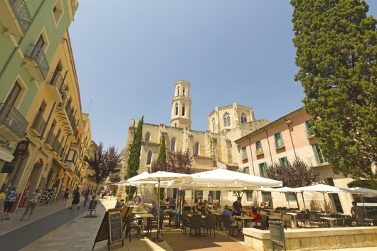 Main Square, Figueres, Spain