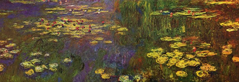 Water Lillies by Claude Monet. Courtesy of Musee de l'Orangerie