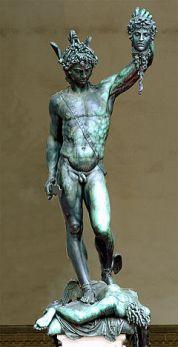 Benvenuto Cellini's Perseus. Loggia dei Lanzi.