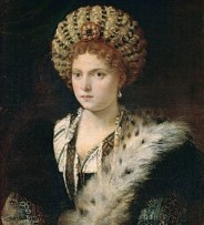 Portrait by Titian now in the Kunsthistorisches Museum in Vienna