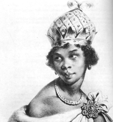 Photo of Queen Nzinga of Angola