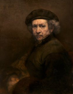 Rembrandt van Rijn (Dutch, 1606 - 1669 ), Self-Portrait, 1659, oil on canvas, Andrew W. Mellon Collection