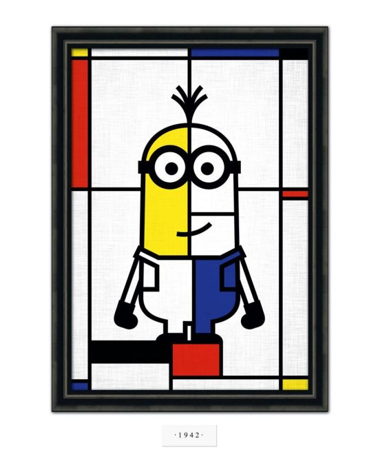 Mondrian Minion