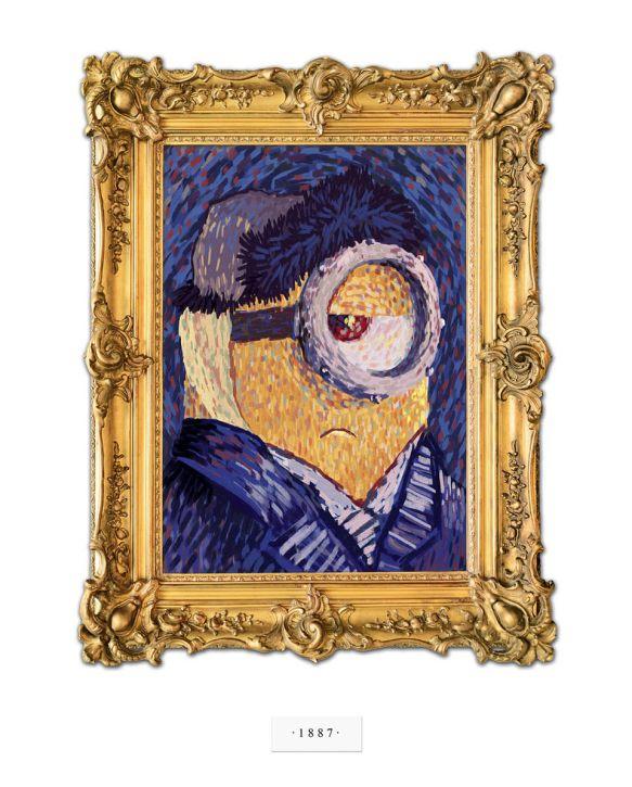 Minion Van Gogh