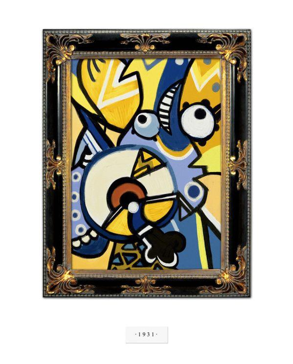 """Pablo """"Minion"""" Picasso"""