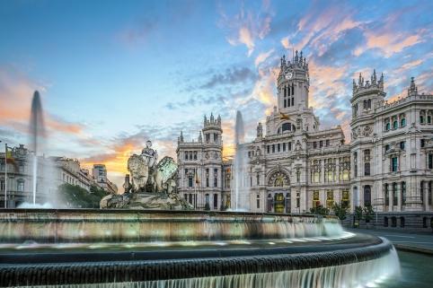 Madrid, Spain at Communication Palace.