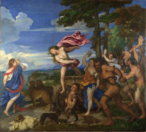 Titian's Bacchus and Ariadne. National Gallery, London.