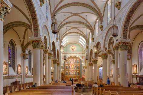 St Francis Cathedral in Santa Fe, New Mexico