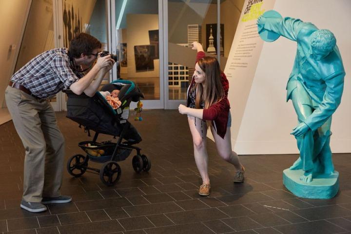 DAM-enjoying the contemporary art galleries