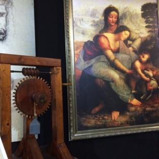 Leonardo da Vinci in San Diego 3