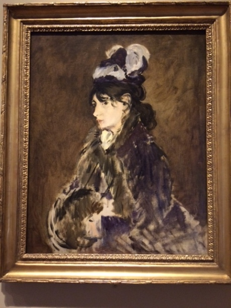Berthe Morisot by Manet