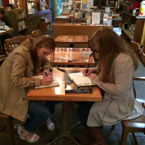 Signing Oil and Marble in Fayetteville