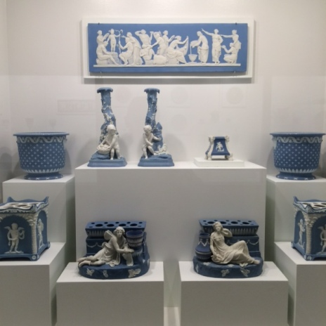 Blue and White at Kimbell