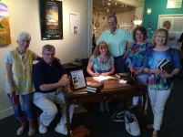 Allison Parson Book Signing in Hot Springs Oil and Marble
