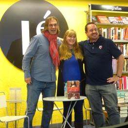 Libreria Le event in Madrid Book Event Oil and Marble