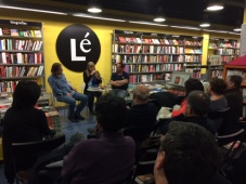 Libreria Le book event in spain madrid oil and marble
