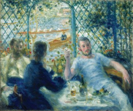 The Rower's Lunch Renoir