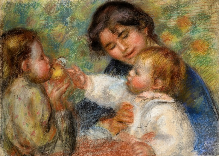 renoir-l-enfant-a-la-pomme-ou-gabrielle-jean-renoir-et-une-filette-vers-1895-189622