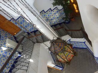 gaudi bellesguarde staircase