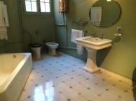 bathroom of gaudi apartment la pedera casa mila