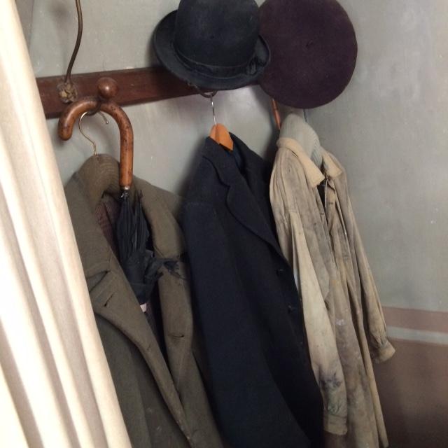 cezanne studio coats and hats