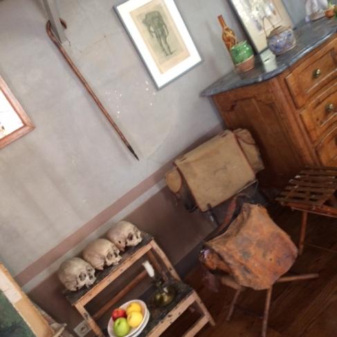 cezanne studio skulls