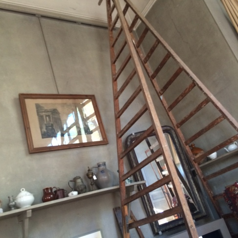 cezanne studio ladder
