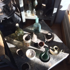 cezanne studio bottles