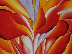 red-canna o'keeffe georgia