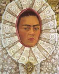 self-portrait-2 kahlo