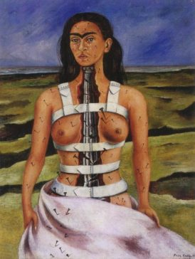 the-broken-column frida kahlo