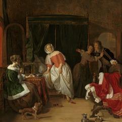 Gabriel Metsu from Vermeer Exhibit
