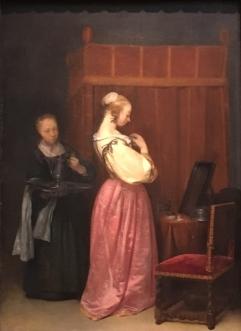 Gerard Ter Borch from Vermeer Exhibit
