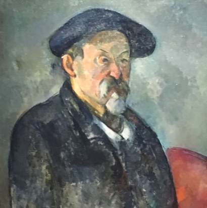 Cezanne Self Portrait 4