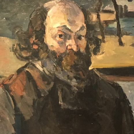 Cezanne Self Portraits 2