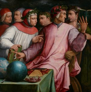 Six Tuscan Poets by Vasari at the Minneapolis Institute of Art