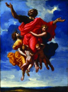 Ecstasy of St. Paul by Poussin at the Ringling Museum in Sarasota