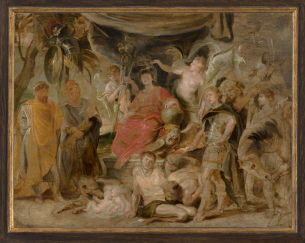 Rubens, the Triumph of Rome