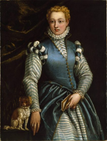 Portrait of a Woman by Veronese held by Museo Thyssen Bornemisza, Madrid, Spain