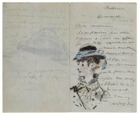 Manet Letter
